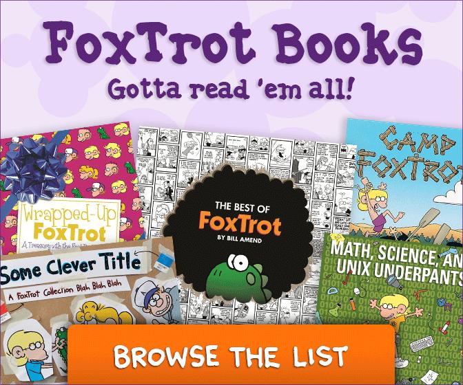 FoxTrot books by Bill Amend