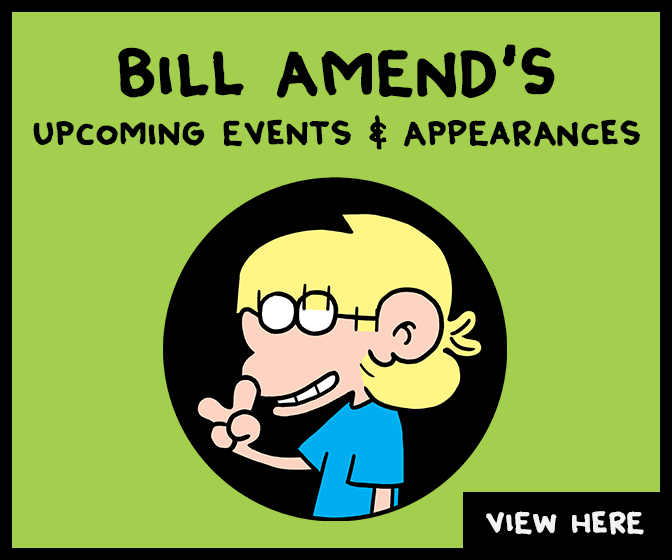 Bill Amend/FoxTrot - 2019 Upcoming Events & Appearances